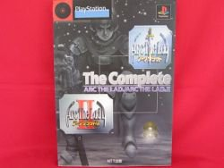 Arc The Lad I II 1 2 complete strategy guide book /PS