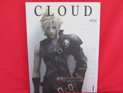 FINAL FANTASY VII 7 CLOUD illustration art book