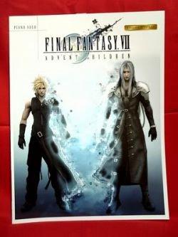 "Final Fantasy VII 7 Advent Children ""High rank"" Piano Sheet Music Collection Book *"