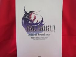 Final Fantasy IV 4 original soundtrack Piano Sheet Music Collection Book / Nintendo DS *