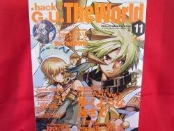 """.hack//G.U. """"the world"""" Piano Sheet Music & Fan Book *"""