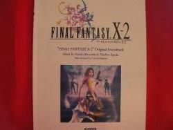 Final Fantasy X-2 Piano Sheet Music Collection Book *
