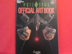 Philosoma official art book / Playstation, PS1