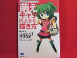 How To Draw Manga book / Moe girls, Heroine, Kawaii lady