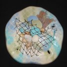 Sand Dollar Wall Plaque (multi color/pastel)