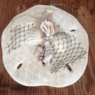 Sand Dollar Wall Plaque Cream Color w/Pearl finish