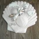Seashell Plaque White with pearl finish