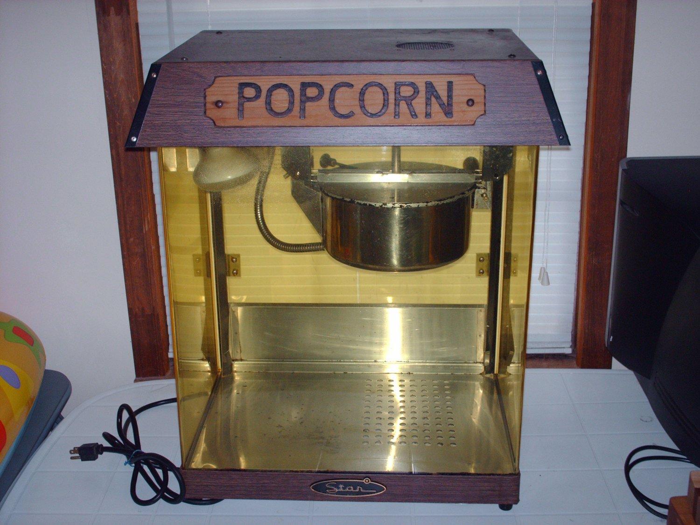 star model # 39 d  6 oz.  commercial popcorn machine,