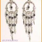 W164FR LOT X 10PRS VICTORIAN STYLE DANGLE EARRINGS