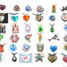 WHOLESALE LOT 10 PCS LAMPWORK GLASS PENDANT