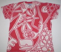 TS006, T-Shirt with All Over Printed