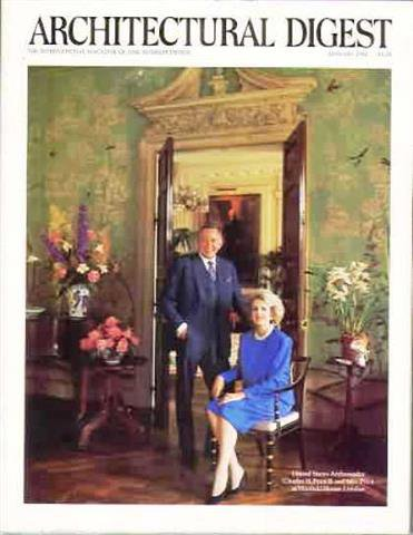 Architectural Digest Magazine, January 1986