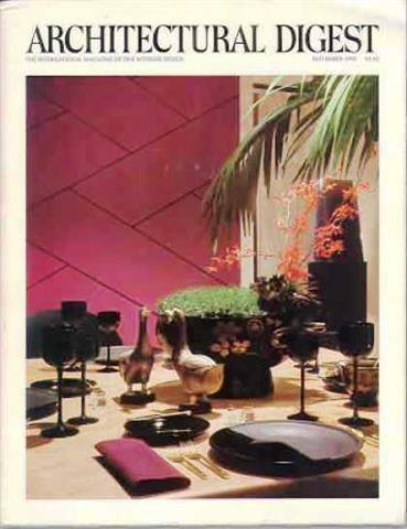 Architectural Digest Magazine, November 1980