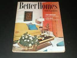 Better Homes and Gardens October 1955