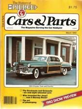 Cars and Parts March 1980