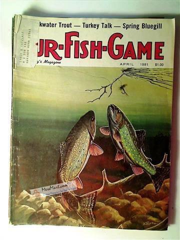 Fur Fish Game Magazine, April 1981