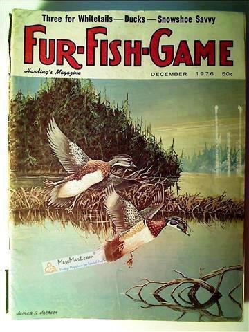 Fur Fish Game Magazine, December 1976