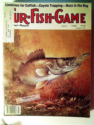 Fur Fish Game Magazine, July 1986