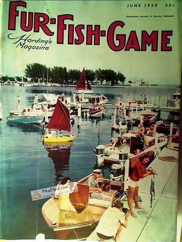 Fur Fish Game Magazine, June 1959