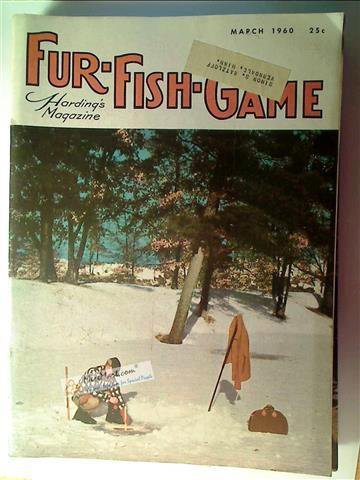 Fur Fish Game Magazine, March 1960