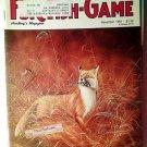 Fur Fish Game Magazine, November 1991