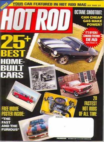 Hot Rod Magazine December 2001