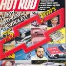 Hot Rod Magazine January 1987
