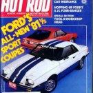 Hot Rod Magazine March 1981
