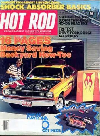 Hot Rod Magazine May 1977