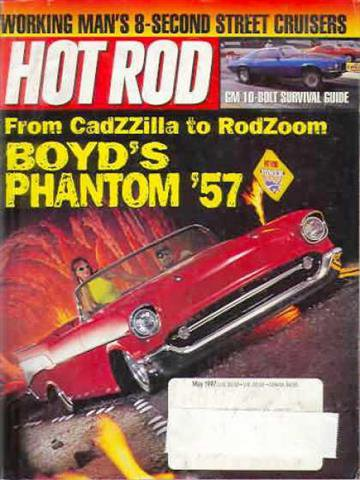 Hot Rod Magazine May 1997