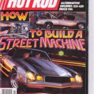 Hot Rod Magazine November 1984