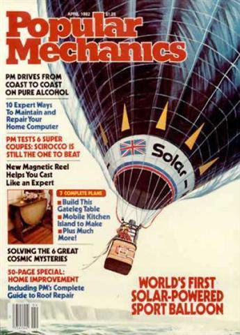 Popular Mechanics April 1982