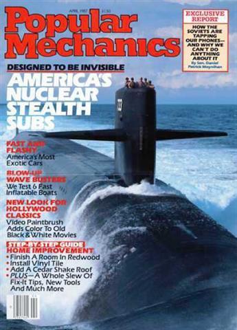 Popular Mechanics April 1987
