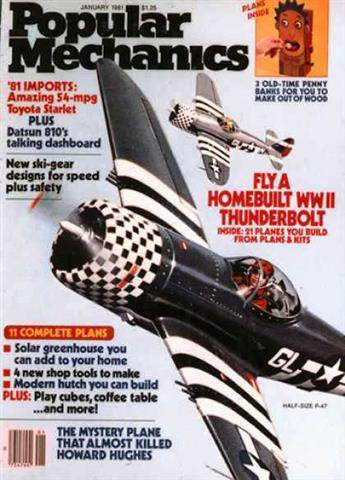 Popular Mechanics January 1981