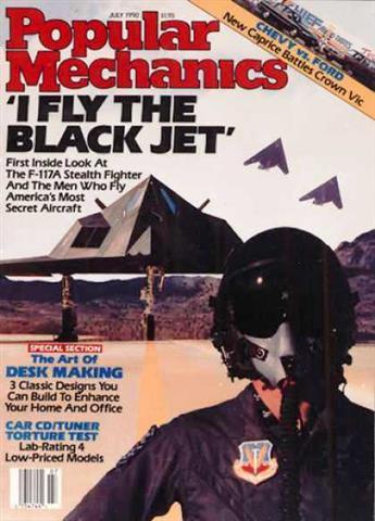 Popular Mechanics July 1990