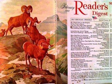 Reader's Digest Magazine, February 1969