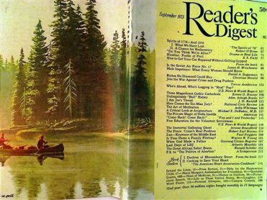 Reader's Digest Magazine, September 1973