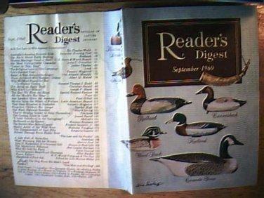 Readers Digest September 1960
