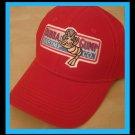 Bubba Gump Shrimp Co cap Forest Gump Movie Fans red adjustable buckle hat