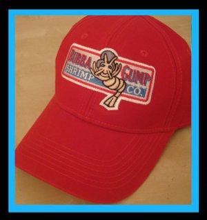 b674fb4e686 Bubba Gump Shrimp Co cap Forest Gump Movie Fans red adjustable buckle hat