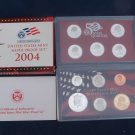 2004 S Silver Proof Set with US MINT BOX and COA