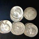 $5 FV 90% Silver Quarters