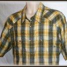 O'Neill Yellow Plaid Western - xl