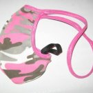Men's Backless Thong Enhancer Sock Pink CAMO 3SOK2