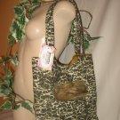 Tote Bag Boho Purse LOTS OF POCKETS Roomy Hobo WILD ANIMAL