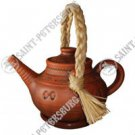 Teapot With Woven Handle