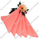 Peach Napkin Set