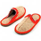 Closed Toe Women's Trimmed Slippers (6.5-7)