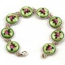 Summer Rose Bracelet (green)