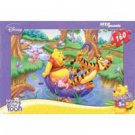 Winnie the Pooh and His Friends in an Umbrella (160 Pieces)